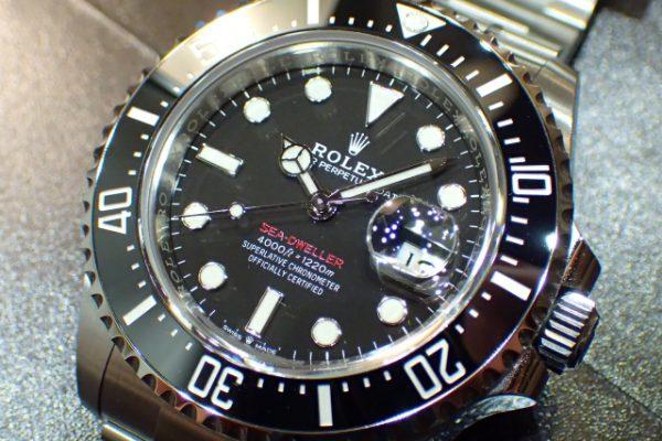 初期モデルを彷彿とさせるデザイン SEA-DWELLER REF.126600