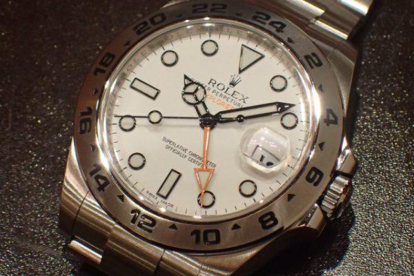 ホワイトダイヤルならこのモデル EXPLORER II REF.216570