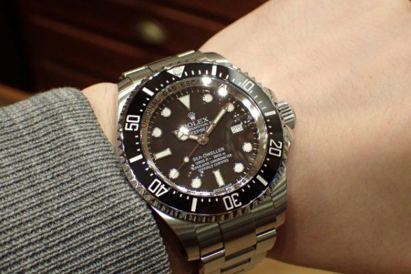 潜水士の時計 DEEPSEA REF.116660 ブラック