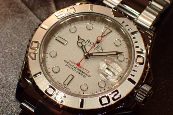 生産終了のプラチナダイヤル YACHT-MASTER REF.116622