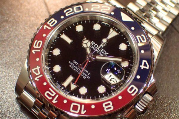 ジュビリーブレス仕様 GMT-MASTER II REF.126710BLRO
