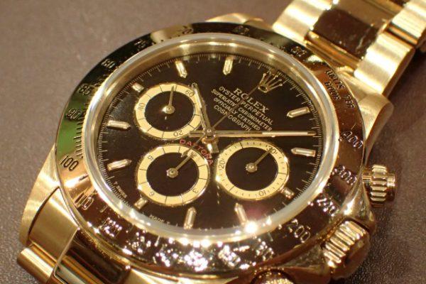 1990年代の金無垢デイトナ REF.16528 ブラック