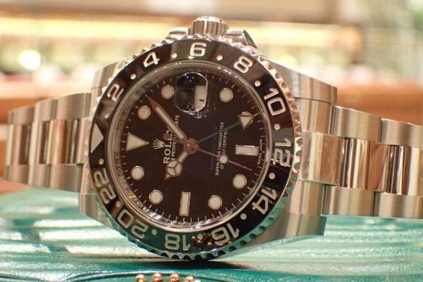 生産終了のブラックベゼル Ref.116710LN GMTマスターII