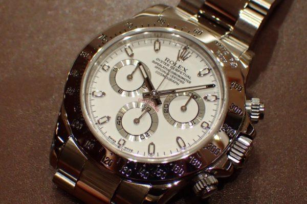 旧型バックルのデイトナ REF.116520 ホワイトダイヤル