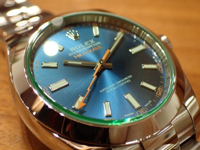 緑×青×橙  ミルガウス Ref.116400GV