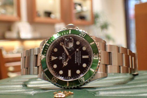 鮮やかなグリーン Ref.16610LV サブマリーナー