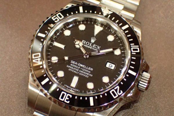 シンプルながら存在感のある1本 SEA-DWELLER REF.126600