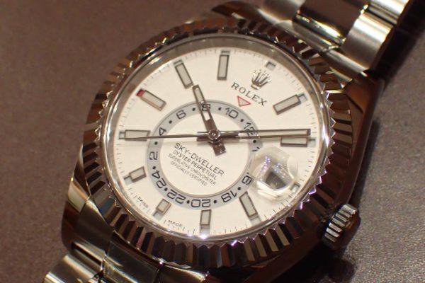 スタンダート系モデルの複雑時計 SKY-DWELLER REF.326934