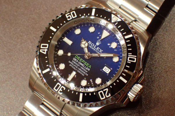 圧倒的なボリューム DEEP SEA REF.126660 Dブルーダイヤル