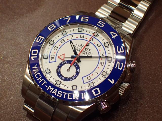 青と白の組み合わせ YACHT-MASTER II REF.116680