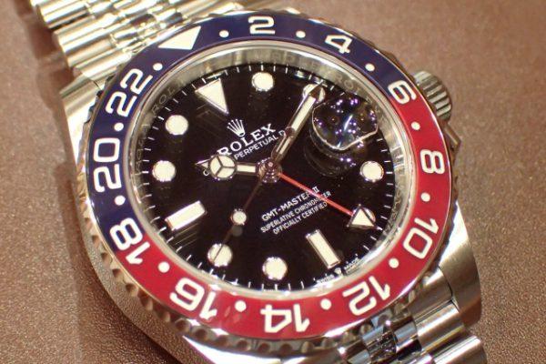 ジュビリーブレスのプロフェッショナルモデル GMT-MASTER II REF.126710BLRO