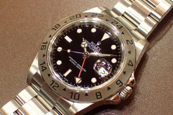 後期型仕様 EXPLORER II REF.16570 ブラック